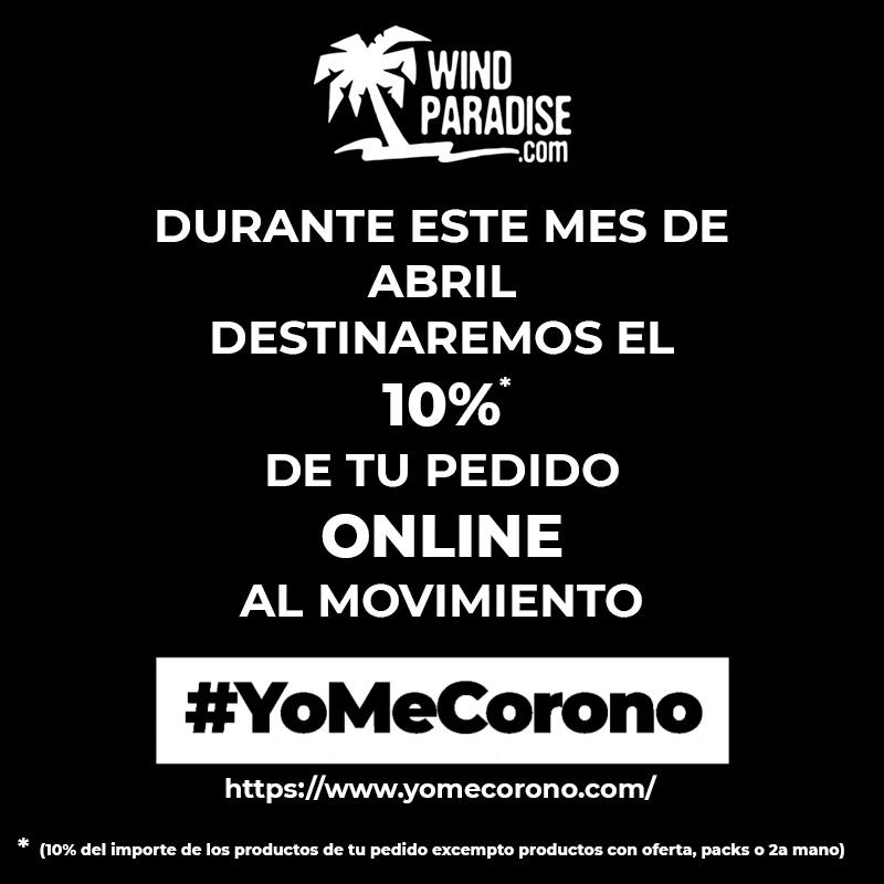 Donamos el 10% de tu pedido a #YoMeCorono