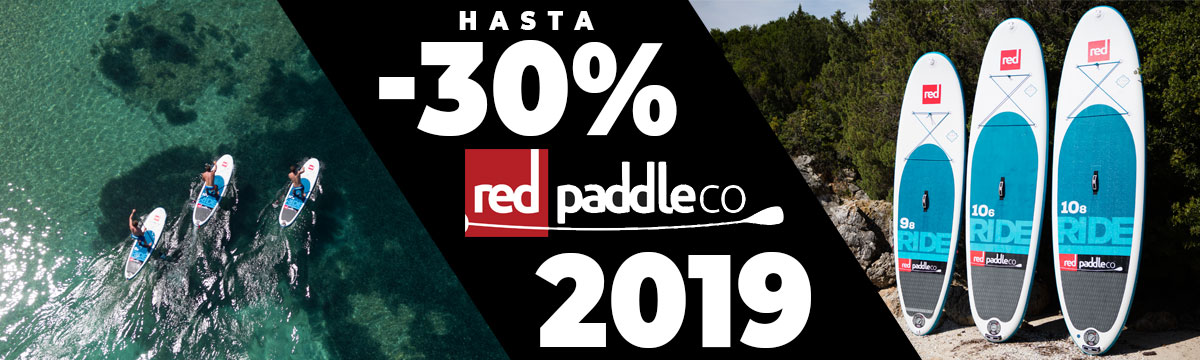 Tablas Red Paddle Co. 2019 -20% Dto.