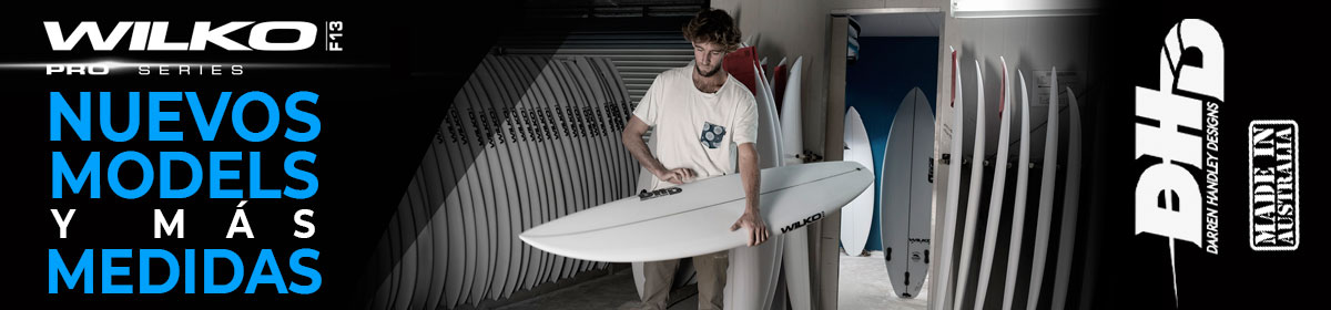 Nuevas tablas de surf DHD Made in Australia.