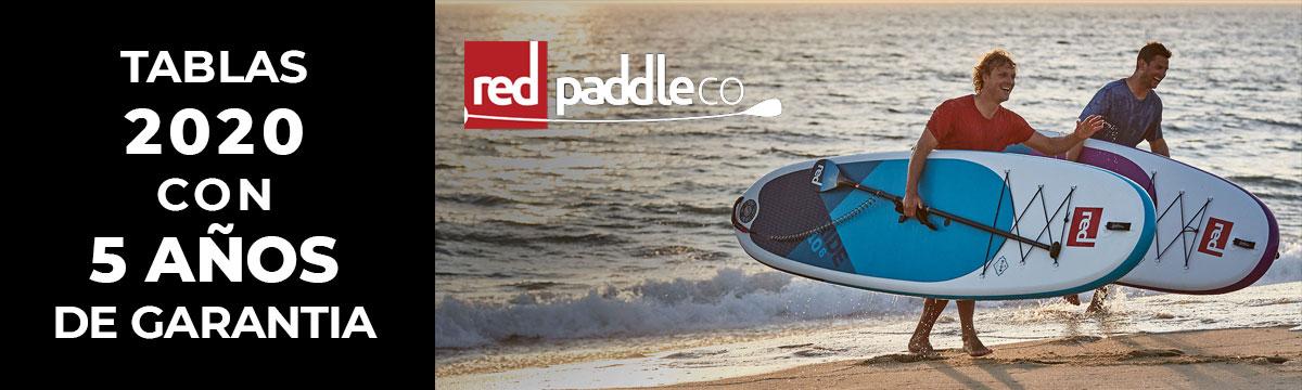 Tablas Red Paddle Co. 2020 5 años de garantía