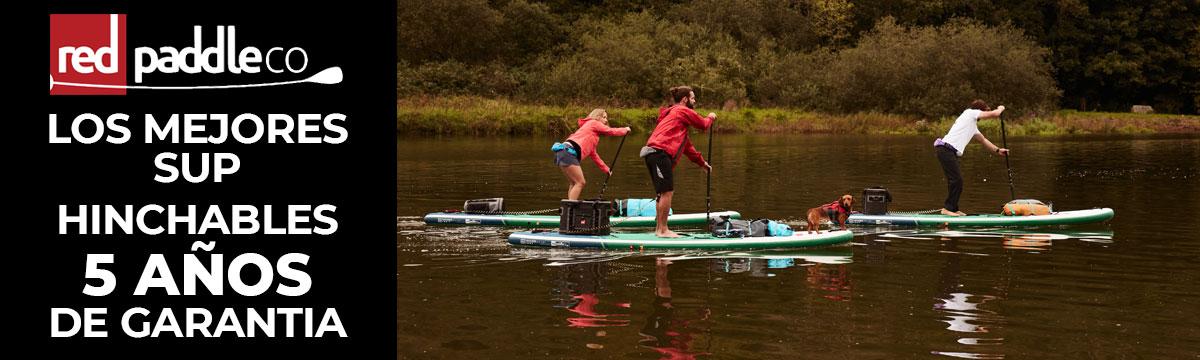 Tablas Red Paddle Co. 2021 5 años de garantía