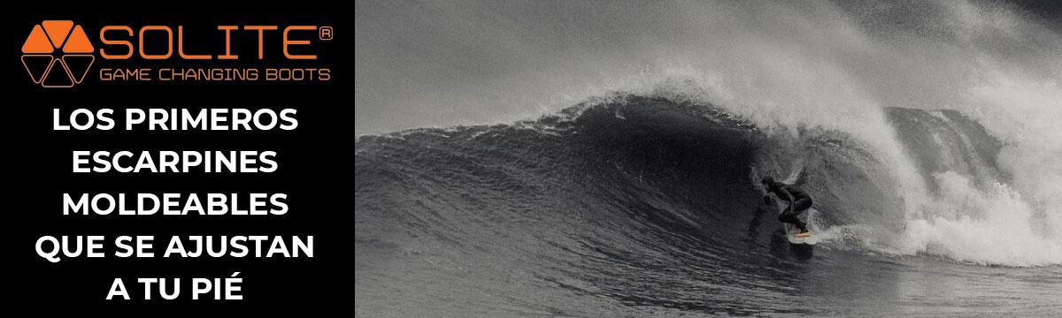 Los primeros escarpines de surf que se adaptan a tu pié